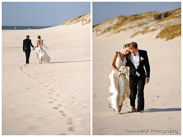 Frances & Bradley's Wedding - Beach