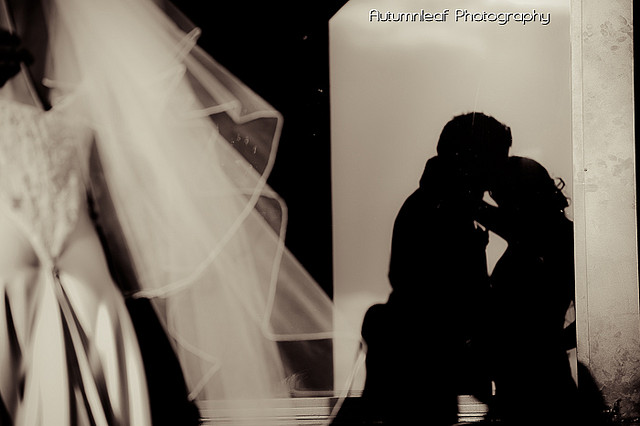 Frances & Bradley's Wedding - Silhouette