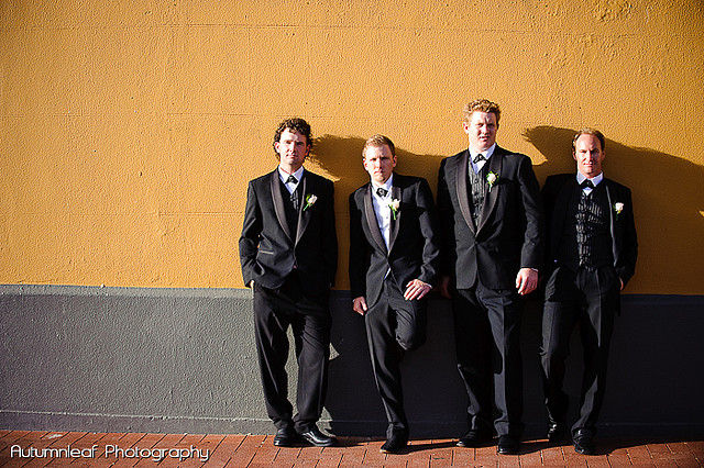 Frances & Bradley's Wedding - The Boys