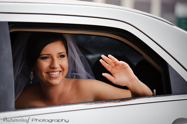 Laura and Elvis's Wedding-Bride's arrival