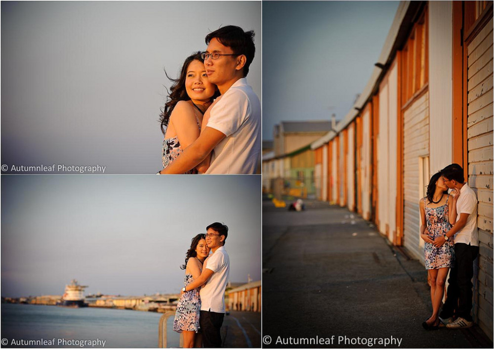 Valerie & Alex - At Freo Warf