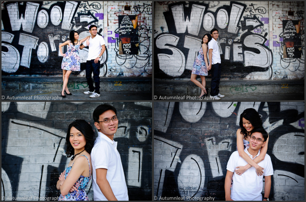 Valerie & Alex - At WoolStore Warehouse