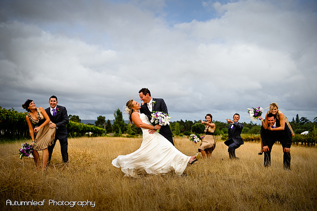 Yanthe & Mark - The fun loving Bridal Party