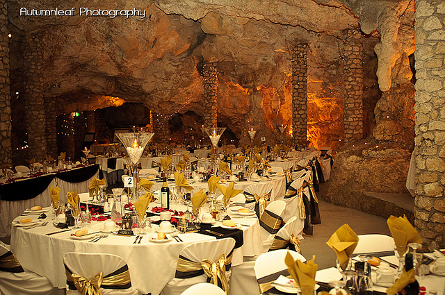 Ari & Shaun's Wedding - Reception at the Cabaret Cave