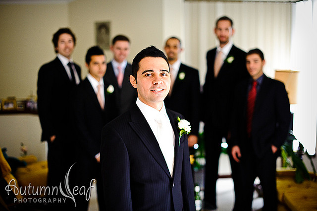 Cara and Frank's Wedding - The Boys