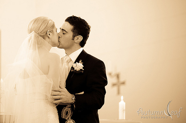 "Cara and Frank's Wedding - ""You may now kiss the bride"""