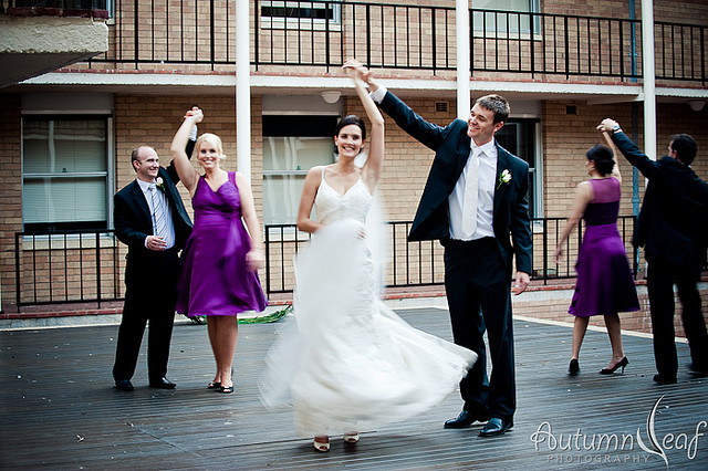 Cassy & Leon - Dancing Bridal Party