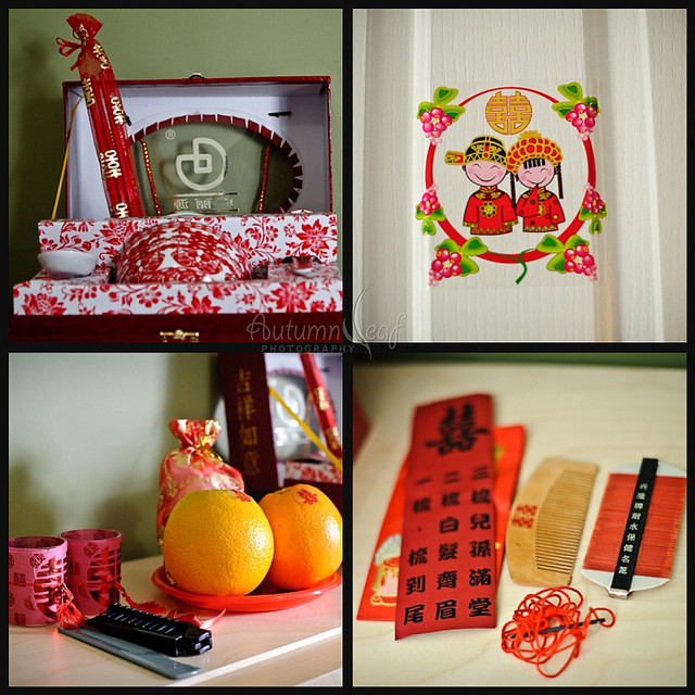 Clare & Nic's Wedding - Chinese Custom collage
