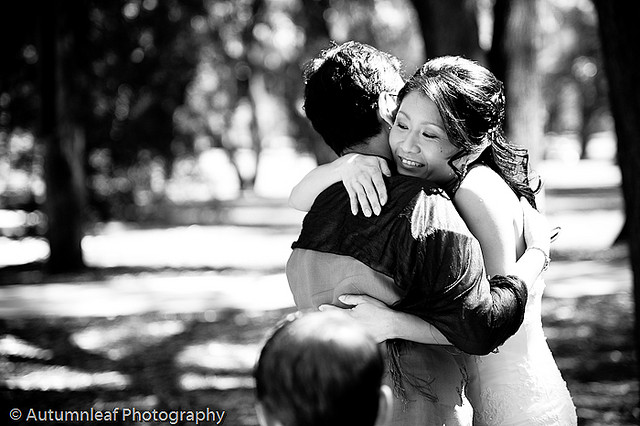 Clare & Nic's Wedding - Hugs and Kisses