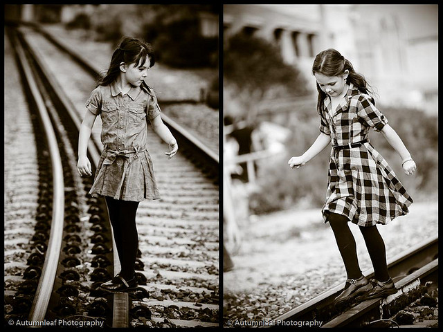 Courtney & Glen - Pre Wedding - Kids On Track