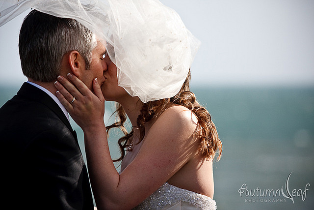 Courtney & Glen - You may kiss the bride