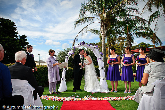 Debbie & Darren's Wedding - Ceremony at Suncity Country Club