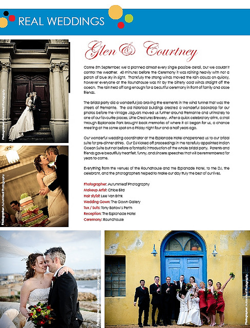 Exclusive Brides Magazine - Real Wedding