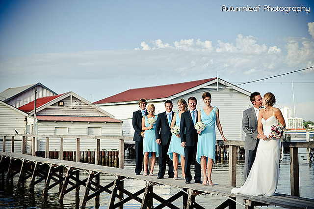Lea and Todd's Wedding -  Boat Sheds and Jetty
