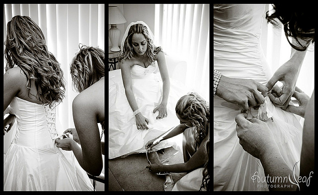 Mandi and Pierre - Bride Preparation