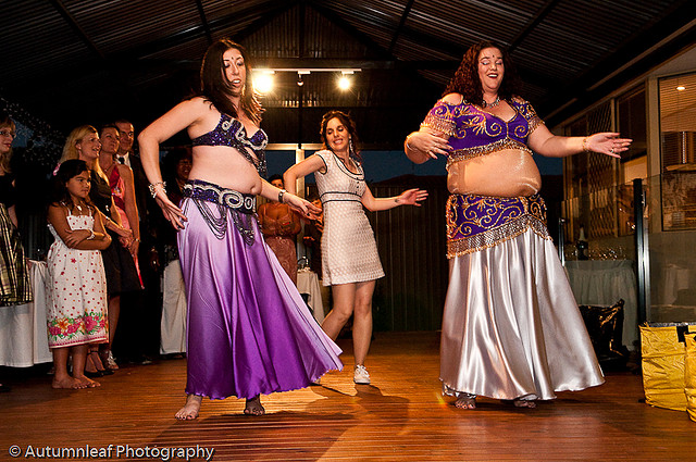 Nadya and Clive-Nadya and the Belly Dancers