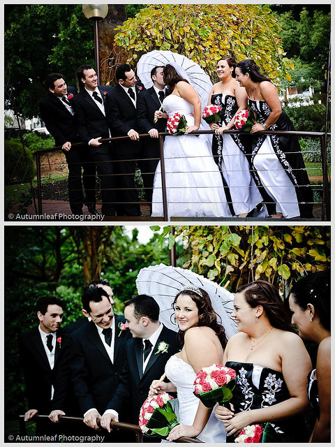 Pamela & Adam Wedding - The Bridal Party
