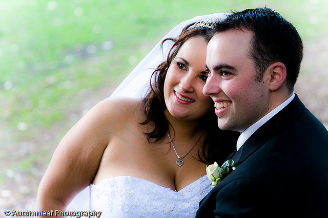 Pamela & Adam's Wedding - The lovely couple