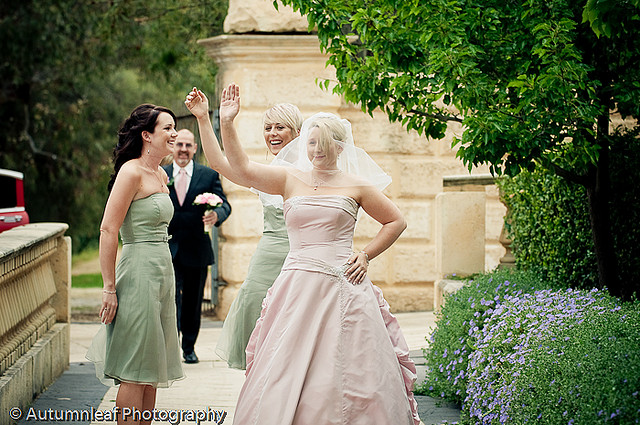 Prue & PAul's Wedding - Bride's Arrival