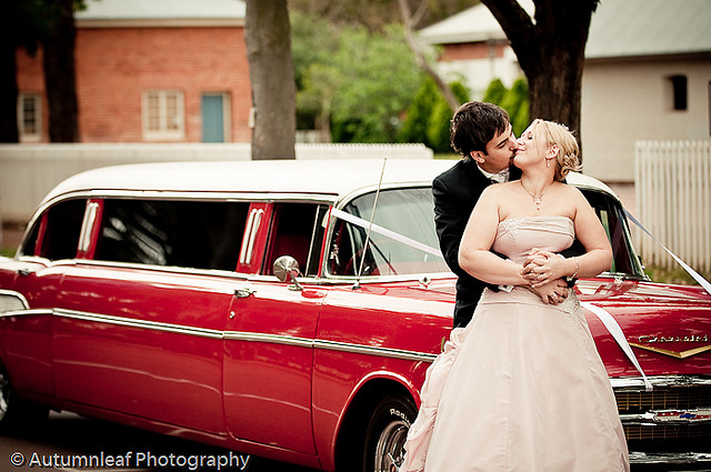 Prue & Paul's Wedding - Bridal Car