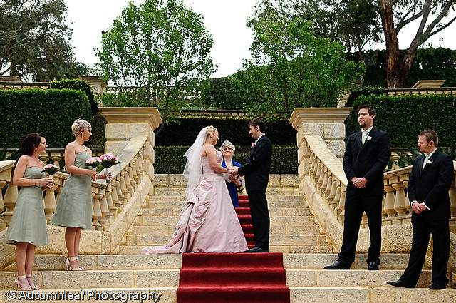 Prue & Paul's Wedding - Ceremony at Caversham House