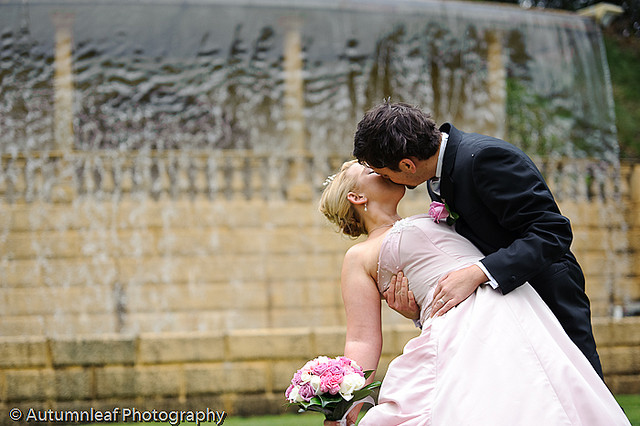 Prue & Paul's Wedding - Kisses
