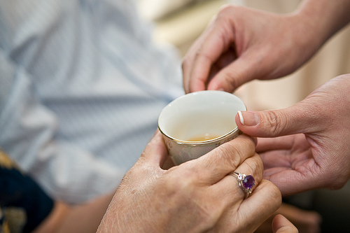 Serene and Benny's Wedding - Tea Ceremony