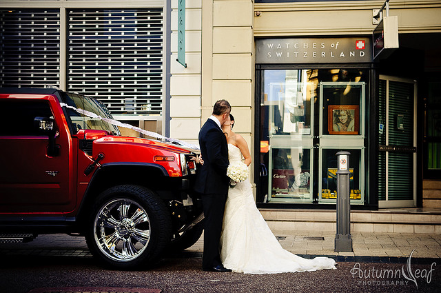 The Couple and the Hummer