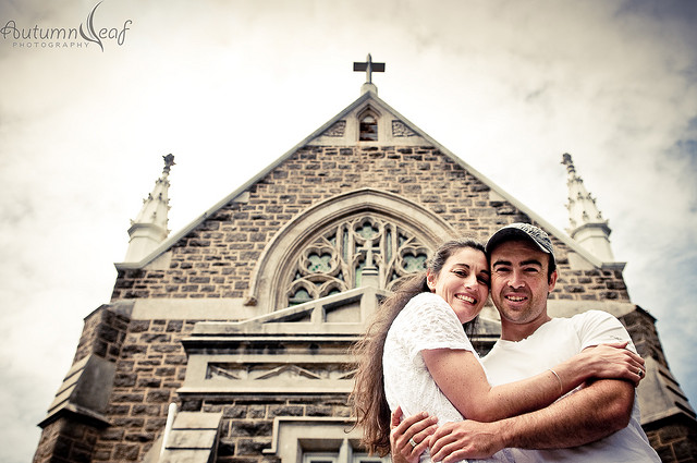 Yvette and Shane - Pre Wedding - St Mary's Church