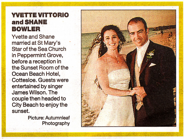Yvette and Shane on Sunday Times - Zoomed in